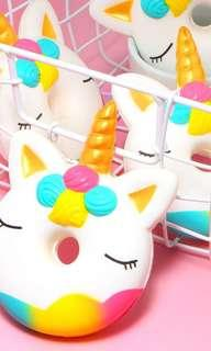#MMAR18 Unicorn donut squishy