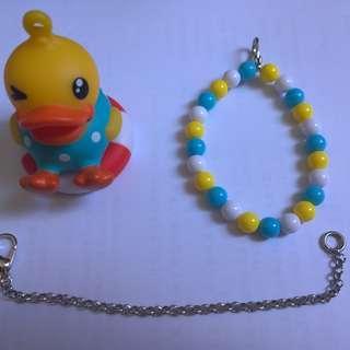 全新 B.Duck 3D八達通配飾 (游泳圈) 成人版 沒有盒