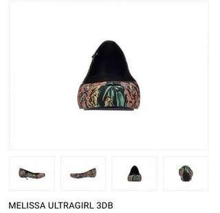 Melissa Ultragirl 3db Black (US 5)