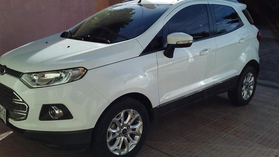 2015 Ford ecosport 18kmileage  automatic, super new