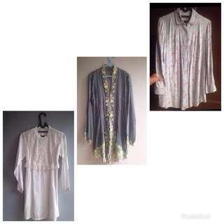 Take all 3 baju/kebaya