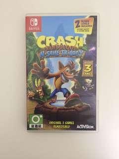 Crash Bandicoot Nintendo Siwtch