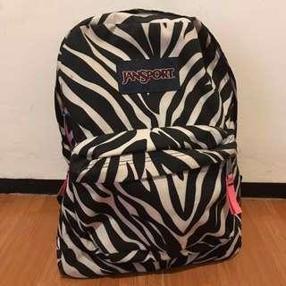 JANSPORT ZEBRA BAG AUTHENTIC