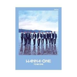WTS FAST WANNA ONE ALBUMS (TO BE ONE AND UNDIVIDED)