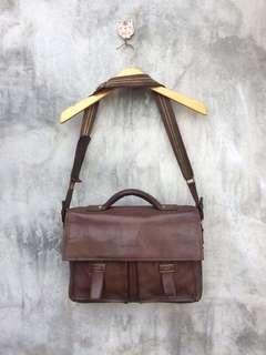 💎VISHARK Messenger Bag Full Leather💎