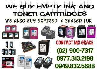 LEGIT AND TRUSTED BUYER OF EXPIRED BNEW & EMPTY INK AND TONER CARTRIDGES