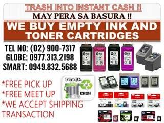BUYER OF EXPIRED BNEW AND EMPTY INK AND TONER CARTRIDGES