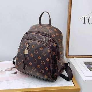 Korean Printed Backpack