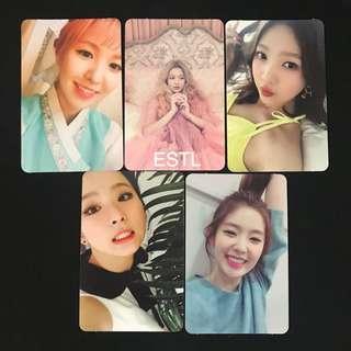 Red Velvet The Velvet Official Photocards Full Set