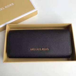 MichaelKors掀蓋手風琴式長夾