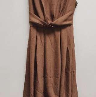 Mocca HiLo dress