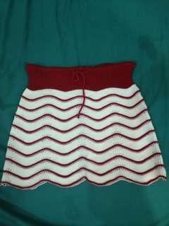 Custom Made Knitted Micro Short Skirt