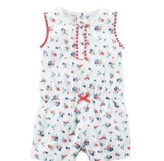 [Brand New] (24M) Carters Floral Romper