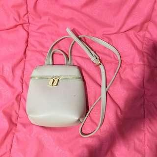 Slingbag miniso cream