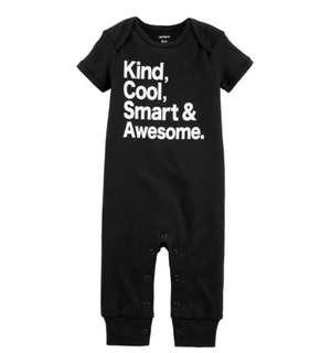 [Brand New] (12M) Carter's Smart & Awesome Jumpsuit