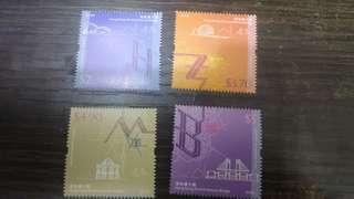港珠澳大橋通車紀念郵票HZMB