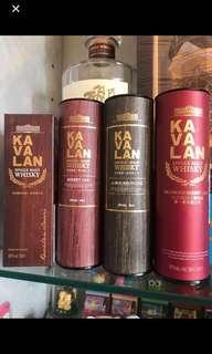 (只有一套)Kavalan 酒版四支