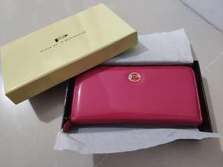 🎇❴清倉價❵ 100%全新 Polo Franco粉紅色女裝銀包