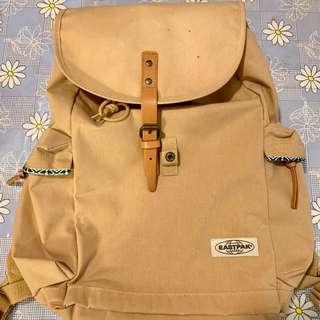 民族風杏駝色背囊背包
