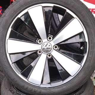 """Volkswagen Beetle 18"""" Rims, 5x112, 18""""x8"""", Offset 48"""