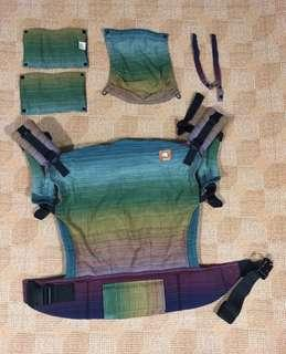 Tula - EUC Full Toddler Coronado Cuervo Weft (fully accessorized)