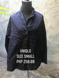 Uniqlo Navy Blue Top