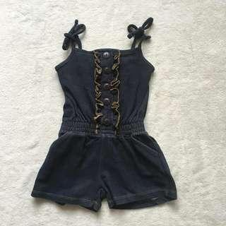 Pink house romper