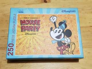 Hong Kong Disneyland Disney Mouse party puzzle 米奇老鼠 Mickey Mouse 奇妙處處通會員專享
