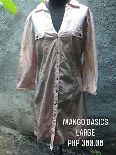 Mango Basic Pink Dress Shirt