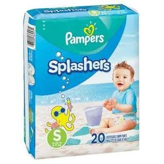Pampers Splashers (pampers berenang)