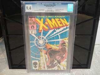Uncanny X-Men #221 CGC 9.4 - Marvel Comics