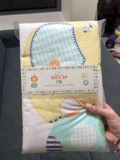 Brand new BN Mothercare roll up cot bed cover blanket