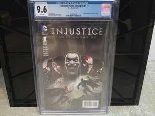 Injustice Gods Among Us #1 CGC 9.6 - DC Comics