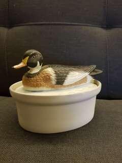 Duck porcelain