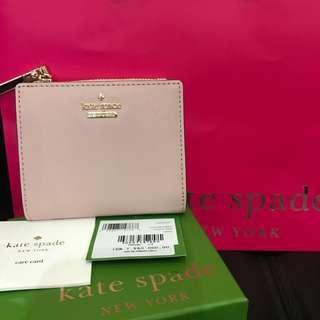 NEW kate spade wallet with box paper bag cocok banget buat kado