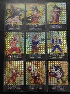 Dragonball Card Goku Special Premium Edition Set Fanmade Card
