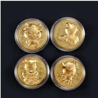 2019 Gold Coin #CNYHOME