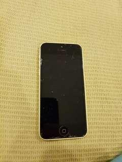 Iphone 5C with screen protector
