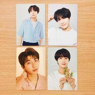 [ONHAND] BTS LOVE YOURSELF JAPAN MINI PHOTOCARDS JHOPE HOSEOK RM NAMJOON
