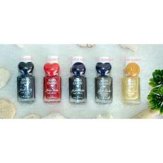CRAZYSALE LOTS!!8 PCS AUTHENTIC HARD CANDY JUST NAILS 10.3ML(COD IS AVAILABLE)