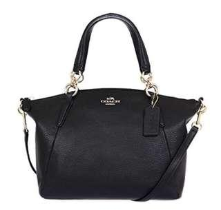 Coach Pebbled Small Kelsey Bag