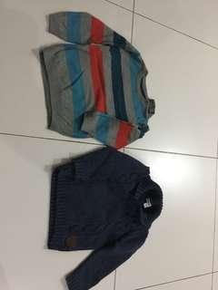 Winter sweaters - 18-24 months