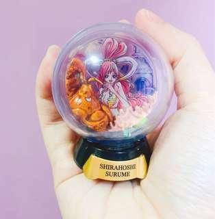 One Piece Shirahoshi Surume Mini Snow Globe