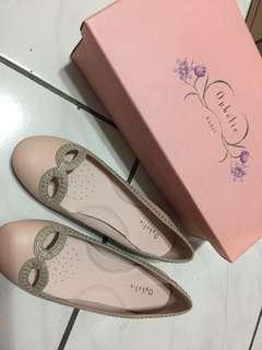 🚚 全新Ophelie 粉紅娃娃鞋