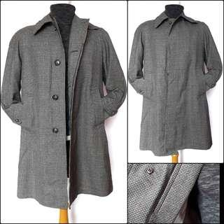 Men long coat / trench coat pria /coat panjang pria/overcoat