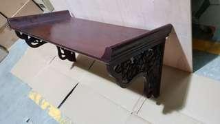 Antique Rosewood Shelf