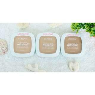 AUTHENTIC LOREAL TRUE MATCH MINERAL PRESSED POWDER (COD IS AVAILABLE)