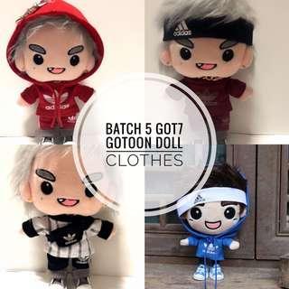 [GO] GOT7 Gotoon Doll Clothes