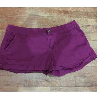 COTTON ON Purple Low Waist Shorts