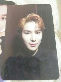 WTS NCT127 Regular-Irregular Jungwoo photocard
